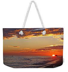 Sunset On Newport Beach Weekender Tote Bag