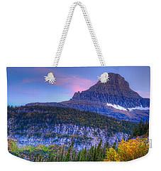 Sunset On Reynolds Mountain Weekender Tote Bag