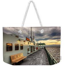 Sunset On Salish Weekender Tote Bag