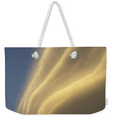 Sunset On Storm Clouds Near Mt Cook Weekender Tote Bag