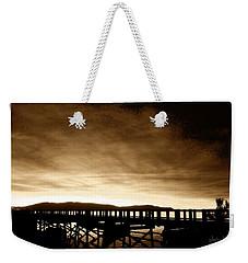 Sunset On The Boardwalk Weekender Tote Bag