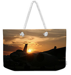 Sunset On The Cold War Weekender Tote Bag