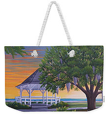 Sunset On The Gazeebo Weekender Tote Bag