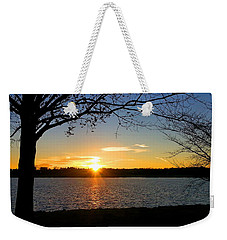 Sunset On The Potomac Weekender Tote Bag
