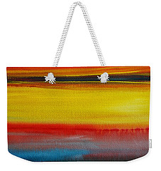 Sunset On The Puget Sound Weekender Tote Bag