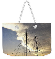 Sunset On The Turkish Gulet Weekender Tote Bag