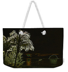 Weekender Tote Bag featuring the photograph Sunset On Tioman Island by Sergey Lukashin