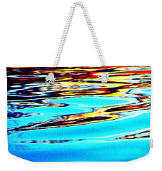 Sunset On Water Weekender Tote Bag