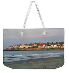 Sunset On York Beach Weekender Tote Bag