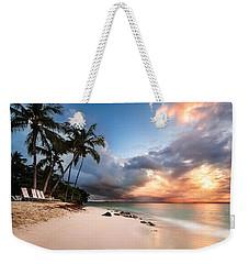 Sunset Over Bacardi Island Weekender Tote Bag by Mihai Andritoiu