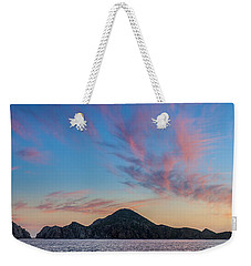 Weekender Tote Bag featuring the photograph Sunset Over Cabo by Sebastian Musial