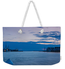 Sunset Over Chincoteague Inlet Weekender Tote Bag