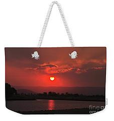 Sunset Over Hope Island Weekender Tote Bag