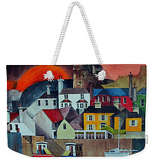 Sunset Over Howth Weekender Tote Bag