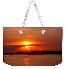 Sunset Over Lake Ozark Weekender Tote Bag