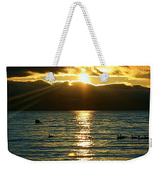 Sunset Over Lake Tahoe Weekender Tote Bag