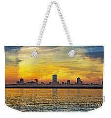 Sunset Over Milwaukee Weekender Tote Bag