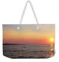 Sunset Over Montauk Weekender Tote Bag