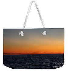 Weekender Tote Bag featuring the photograph Sunset Over Point Lookout by John Telfer