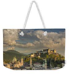 Sunset Over Salzburg Weekender Tote Bag