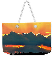 Sunset Over Southern Ohio Weekender Tote Bag
