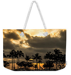Sunset Over Waikiki Weekender Tote Bag