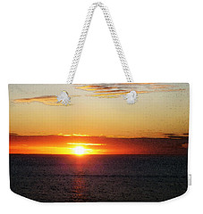 Sunset Painting - Orange Glow Weekender Tote Bag