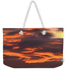 Sunset Weekender Tote Bag by Pamela Walton