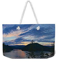 Sunset Pano - Watauga Lake Weekender Tote Bag