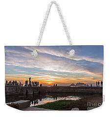 Sunset Party Weekender Tote Bag