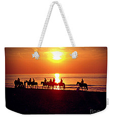 Sunset Past Time Weekender Tote Bag
