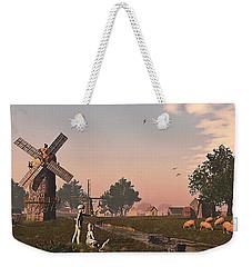 Sunset Play Weekender Tote Bag by Ken Morris