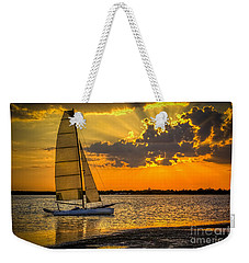 Sunset Sail Weekender Tote Bag by Marvin Spates
