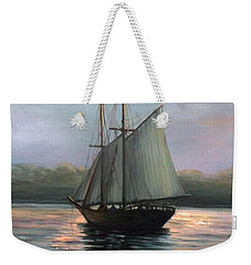 Sunset Sails Weekender Tote Bag by Eileen Patten Oliver