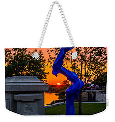 Sunset Sculpture Weekender Tote Bag