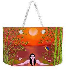 Sunset Songs Weekender Tote Bag