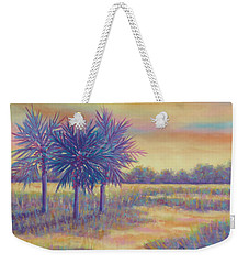 Sunset Splash Weekender Tote Bag