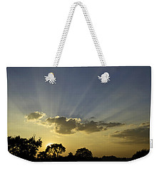 Sunset Sunrays Weekender Tote Bag