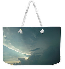 Sunset Supercell Weekender Tote Bag by Ed Sweeney