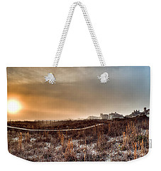 Sunset Through The Fog Weekender Tote Bag