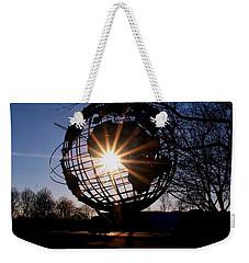 Sunset Through The Unisphere Weekender Tote Bag