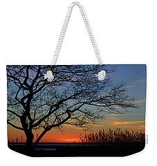 Sunset Tree In Ocean City Md Weekender Tote Bag