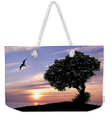 Sunset Tree Of Tranquility Weekender Tote Bag