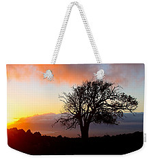 Sunset Tree In Maui Weekender Tote Bag