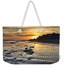 Sunset Wild Dunes Beach South Carolina Weekender Tote Bag