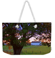 Sunset With Tree Weekender Tote Bag