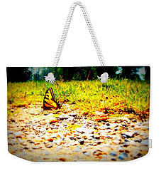 Sunshine Butterfly Weekender Tote Bag