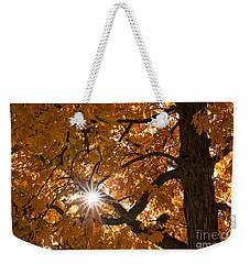 Sunshine Gold Weekender Tote Bag