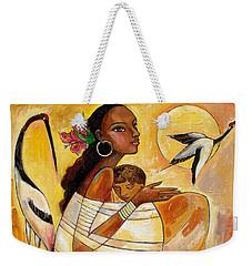 Sunshine Mother And Child Weekender Tote Bag