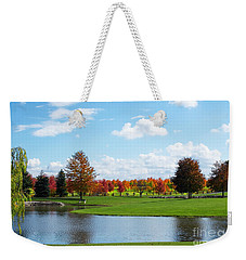 Sunshine On A Country Estate Weekender Tote Bag by Barbara McMahon
